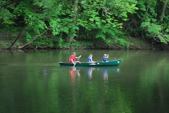 Jonestown, PA: Canoe, Kayak & Tube rentals available when water levels on the Swatara Creek are the correct hei