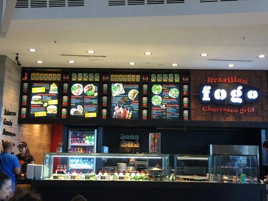 Bondi, أستراليا: good selection of meals to choose from
