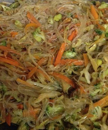 Sinnai, Itália: spaghetti alla thai