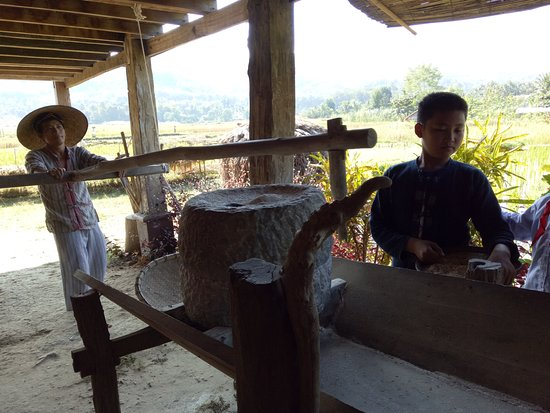 The Living Land Company Grindstone For Milling Rice Flour