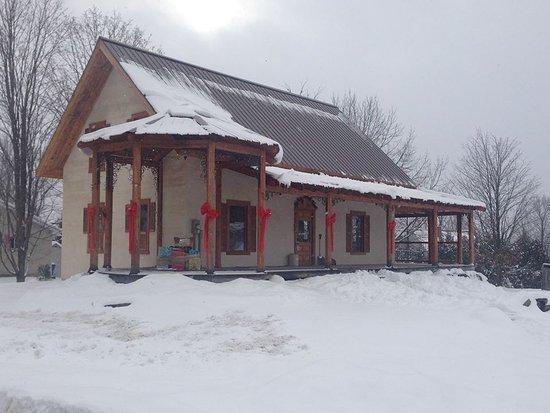 Compton, Kanada: Maison ancestrale et habits hivernaux