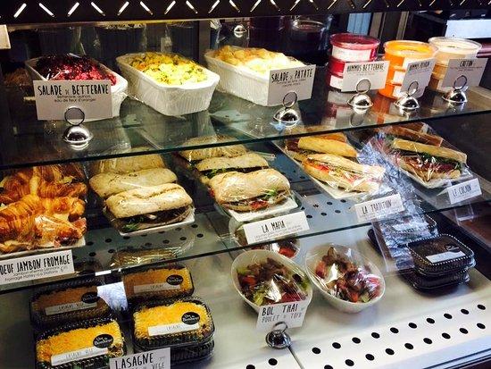 Compton, Kanada: Comptoir lunch, mangez sur place ou emportez