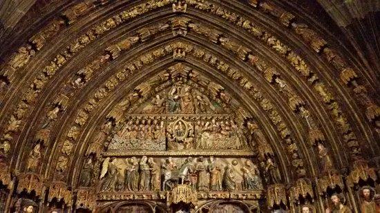 Laguardia, Espagne : Iglesia de Santa María de los Reyes
