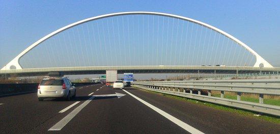 Reggio Emilia, Italia: il ponte centrale