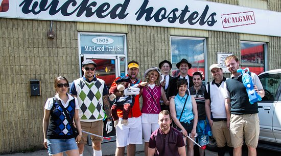 Wicked Hostels - Calgary : Pub Golf