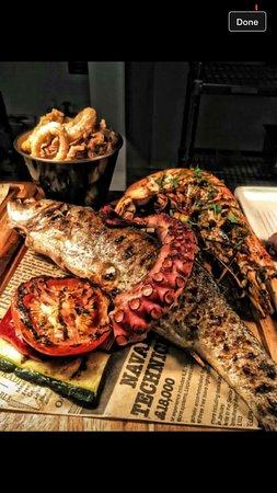 Barnet, UK: Fish tasting menu