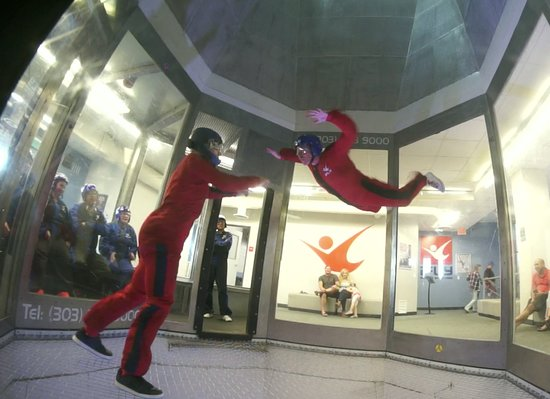 iFLY Indoor Skydiving - Denver: First flight!