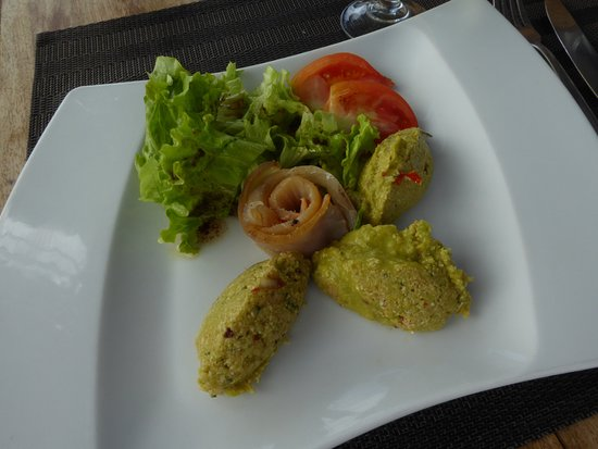 Basse-Terre, Guadeloupe: Smoked Fish and Avocado