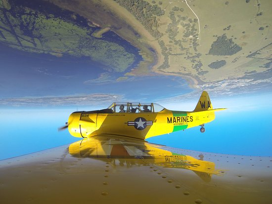 Warbird Adventures : Pilot Neal and I in the AT6