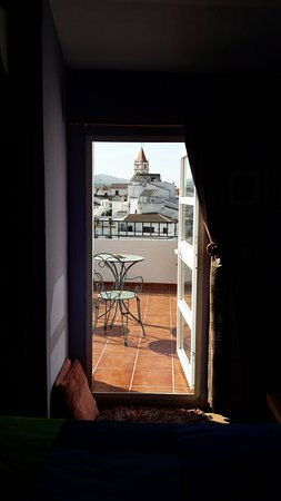 Arriate, Spanyol: view from the main bedroom