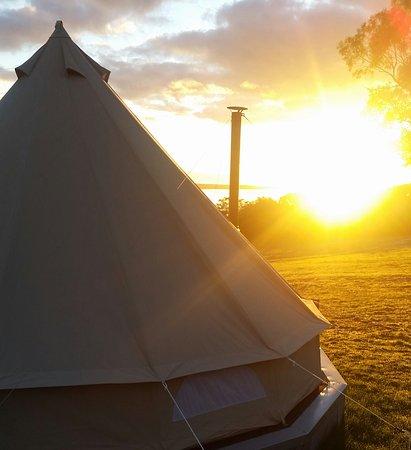 French Island, Avustralya: Amazing sunrise