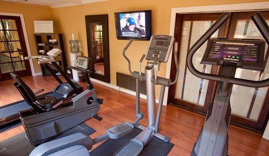 Mountain View, Kalifornien: Fitness Center.