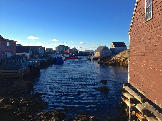 Peggy's Cove, Kanada: At the End