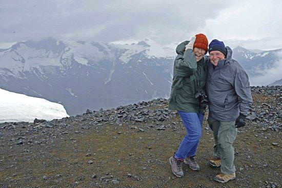 Hofn, Iceland: At the edge of the volcano at Vatnajokull