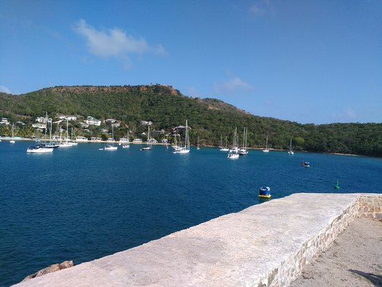 English Harbour, Antigua: View from Fort Berkeley