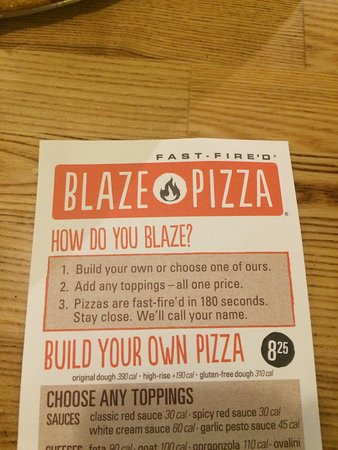 Okoboji, IA: Build your own pizza