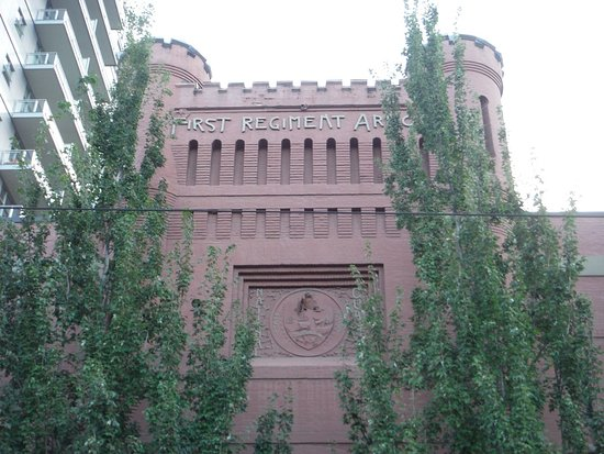 pearl district first regiment armory