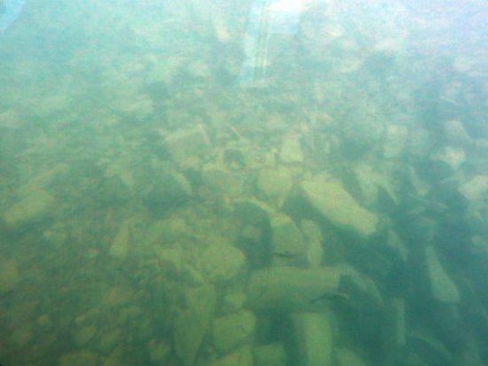 Chitose, Japan: murky underwater