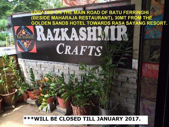 Batu Ferringhi, Malaysia: CLOSED TILL JANUARY 2017