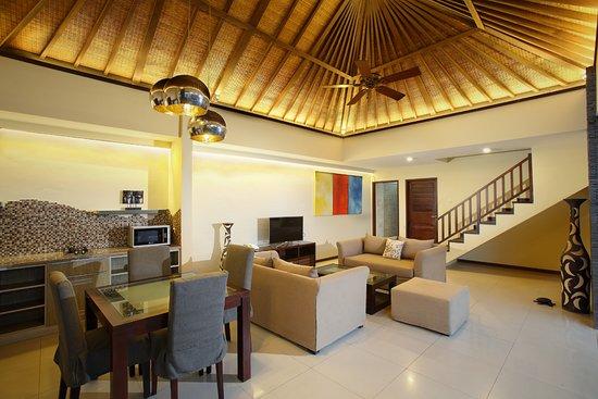 Lalasa Villas: Kitchenette & Living Room