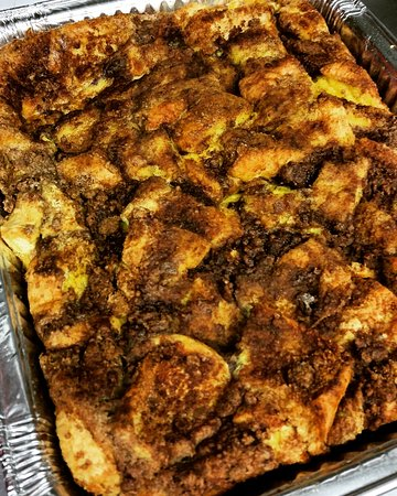 Upton, MA: Baked Cinnamon Streusel French Toast