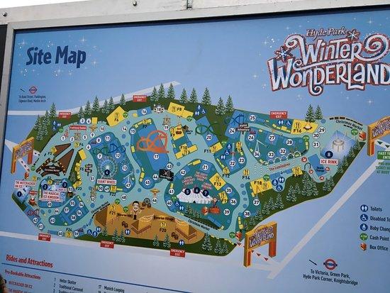 Mappa Picture of Winter Wonderland London TripAdvisor