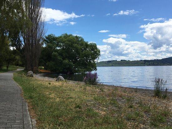 Murchison, Nuova Zelanda: Lake Taupo Walk