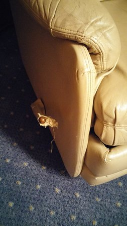 Four Points by Sheraton Brussels: broken armchair