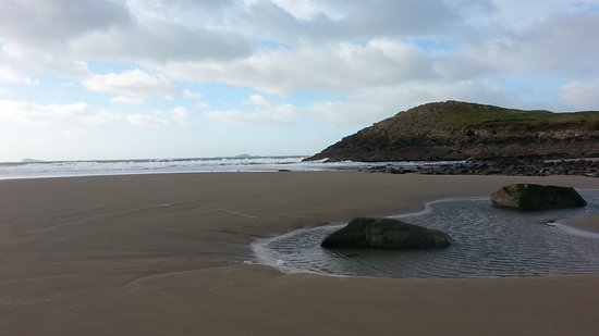 St. Davids, UK: Even in winter Whitesands is wonderful