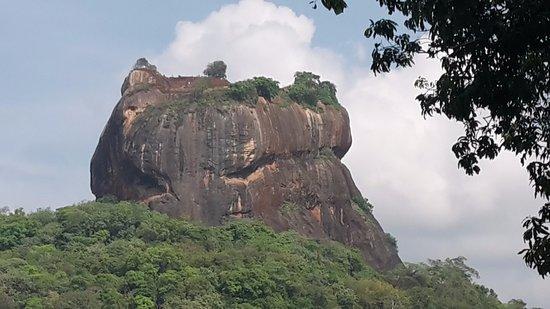 Katunayake, Sri Lanka: Sigiriya rock Castle.