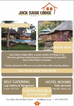 Sabie, South Africa: 2016 Rates
