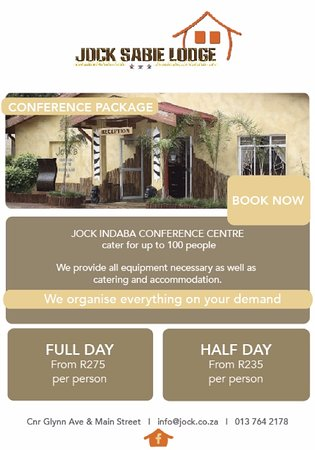 Jock Sabie Lodge : 2016 Rates
