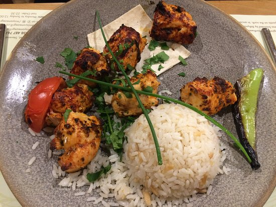 Stevenage, UK: Chicken Shish