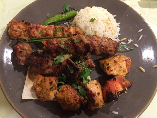 Stevenage, UK: Mixed Kebab