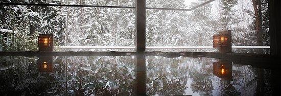 Saltsjo-Boo, Szwecja: Hot spring, Winter
