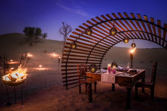Have a romantic private cabana on your platinum desert for Best romantic hotels in dubai