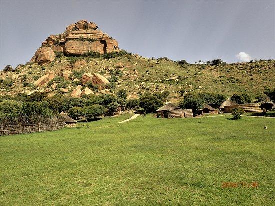 Bethlehem, Νότια Αφρική: Vue du village