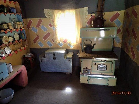 Bethlehem, Νότια Αφρική: Intérieur typique d'une case