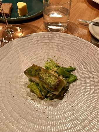Oldstead, UK: Halibut
