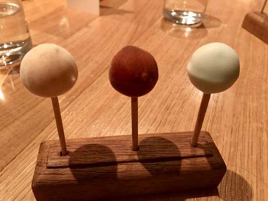 Oldstead, UK: Lollipops