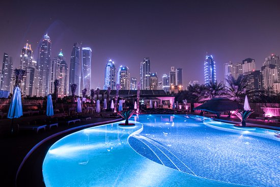 Beautiful Dubai Marina view from Andreea's - Picture of