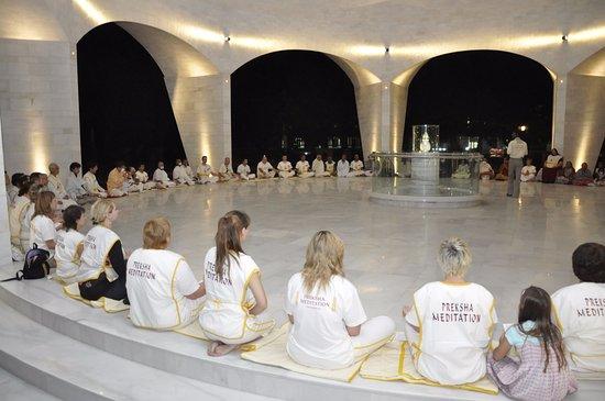 International Preksha Meditation Centre Ladnun: Meditation Practice