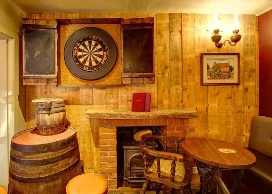 Wimborne Minster, UK: Dart boards