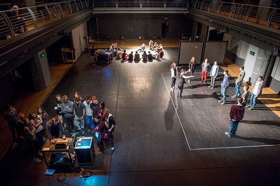 Archa Theatre: Interactive workshop of documentary theatre for schools. |  photo © Petr Salaba
