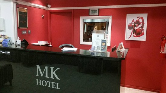 Milton Keynes Hotel: Reception