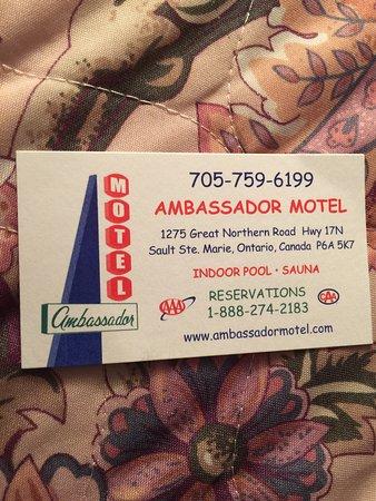 أمباسادور موتيل: Ambassador Motel