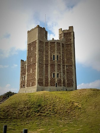 Orford, UK: Castle from the car park