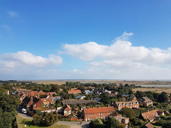 Orford, UK: View from the roof