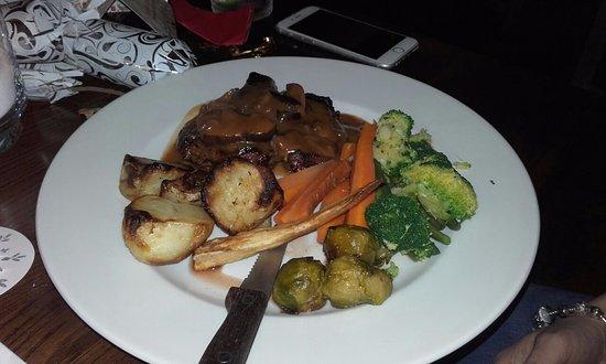 Crowborough, UK: Rump steak