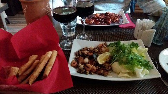 Szekesfehervar, Hungary: Seafood